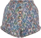 Manoush High Waisted Shorts