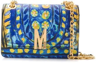 Moschino Matador print shoulder bag