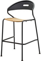 Houseology Gloster Curve Bar Chair - Meteor