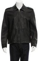 Alexander Wang Leather Zip Jacket