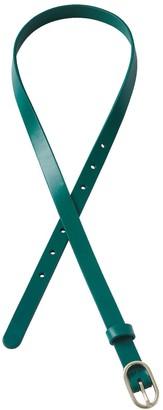 Lands' End Women's Skinny Leather Belt
