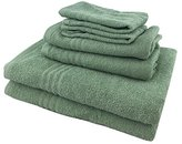 Metro 100% Cotton 6-piece Basic Towel Set (Green)