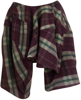Comme des Garcons Multicolour Wool Shorts