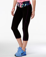 Material Girl Active Juniors' Cropped Leggings, Only at Macy's