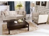 Baxton Studio Stapleton beige Linen Modern Sofa set