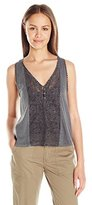 Billabong Juniors Give Love Woven Racerback Tank Top