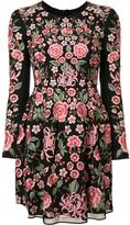 Needle & Thread floral print dress - women - Nylon/Polyester/Spandex/Elastane - 6