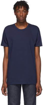 Naked & Famous Denim Denim Denim Navy Circular Knit T-Shirt