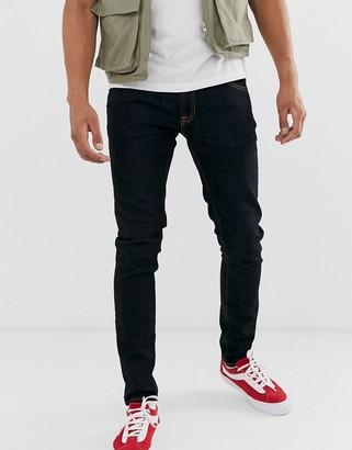 Nudie Jeans Skinny Lin skinny fit jeans in deep orange