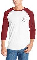 Brixton Men's Wheeler 3/4 Sleeve T-Shirt