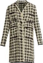 Rochas Wool-blend tweed coat