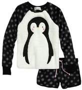PJ Salvage Girl's Applique Two-Piece Pajamas