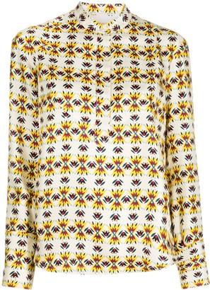 La DoubleJ Portofino geometric print shirt