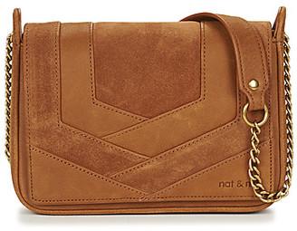 Nat & Nin CAPRI women's Shoulder Bag in Brown