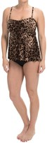 Miraclesuit Magicsuit Cheetah Ave. Tankini Set - Removable Straps (For Women)