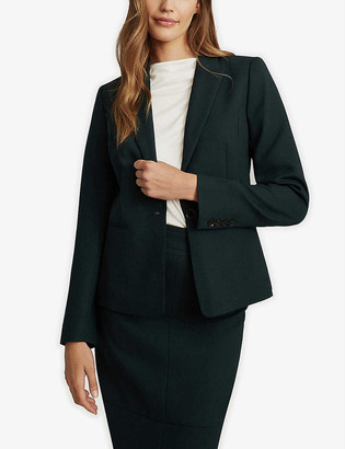 Reiss Sadie wool-blend blazer