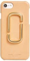 Marc Jacobs Double-J Logo Iphone 7 Case - Beige