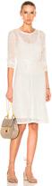 Raquel Allegra Bias Long Sleeve Dress