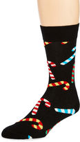 HS by Happy Socks Mens Holiday Crew Socks