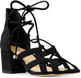 MICHAEL Michael Kors Mirabel Mid Lace-Up Block Heel Sandals