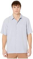 Quiksilver Waterman Cane Island Short Sleeve (White Cane Island) Men's Clothing