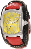 Invicta Women's 12260 Lupah Dial Red and Black Leather Watch