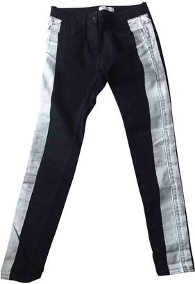 Sandro Black Denim - Jeans Trousers for Women