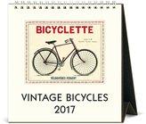 Cavallini CAL17-14 Bicycles Desk Calendar