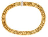Roberto Coin 3-Row Appassionata Collar Necklace