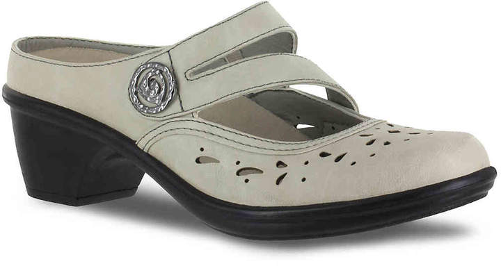 b84bd4899ceea Easy Street Shoes Gray Mules   Clogs - ShopStyle