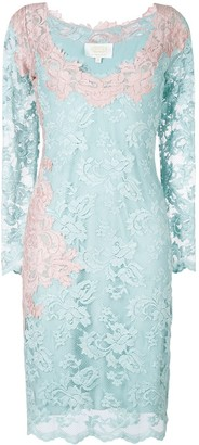 Olvi ́S Lace-Embroidered Dress