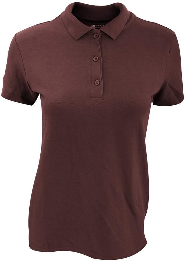 Gildan Womens/Ladies Premium Cotton Sport Double Pique Polo Shirt (L)