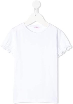 Il Gufo frill-trim T-shirt