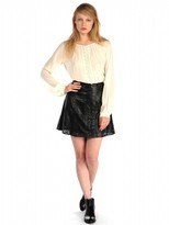 House Of Harlow 1960 Arietta Skirt In Black