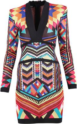 Balmain Jacquard Dress