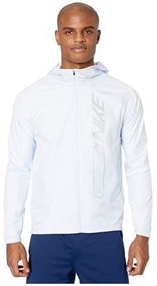 Nike Essential Jacket Flash Pullover Air (Football Grey/Reflective Silver) Men's Clothing