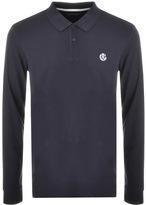 Henri Lloyd Musburry Long Sleeve Polo T Shirt Navy