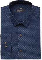Bar III Men's Slim-Fit Stretch Easy Care Polka Dot Print Dress Shirt, Created for Macy's