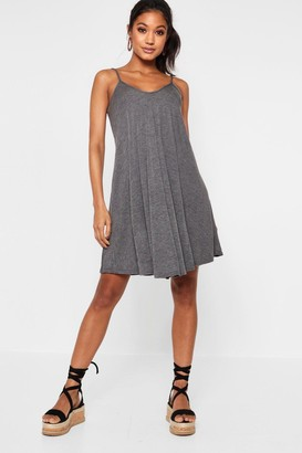 boohoo Strappy Swing Dress