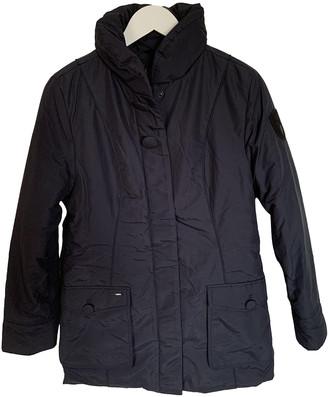 Nobis Navy Cotton Coats