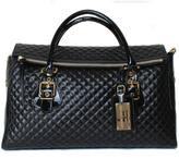 Luciano Padovan Quilted Leather Satchel
