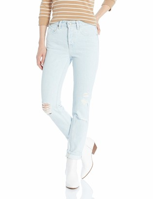 Volcom Junior's Women's Super Stoned Skinny Fit Ankle Denim Pant
