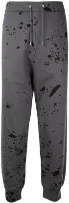 Oamc Paint Splatter Track Trousers