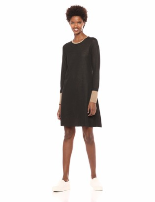 Three Dots Women's OW5870 Reversible Colorblock Knit Dress