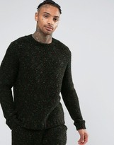 Asos Sweater in Speckled Boucle Yarn