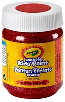 Crayola 2oz Washable Paints - Red Sparks