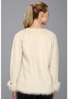 Calvin Klein Toscana Faux Fur Jacket