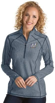 Antigua Women's Milwaukee Brewers Tempo Pullover