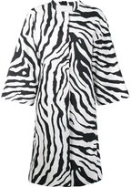 ADAM by Adam Lippes animal print cocoon coat