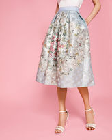 Ted Baker Patchwork pleated skirt